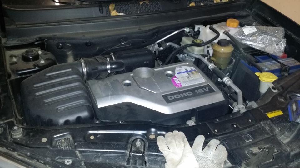 ремонт двигателя каптива